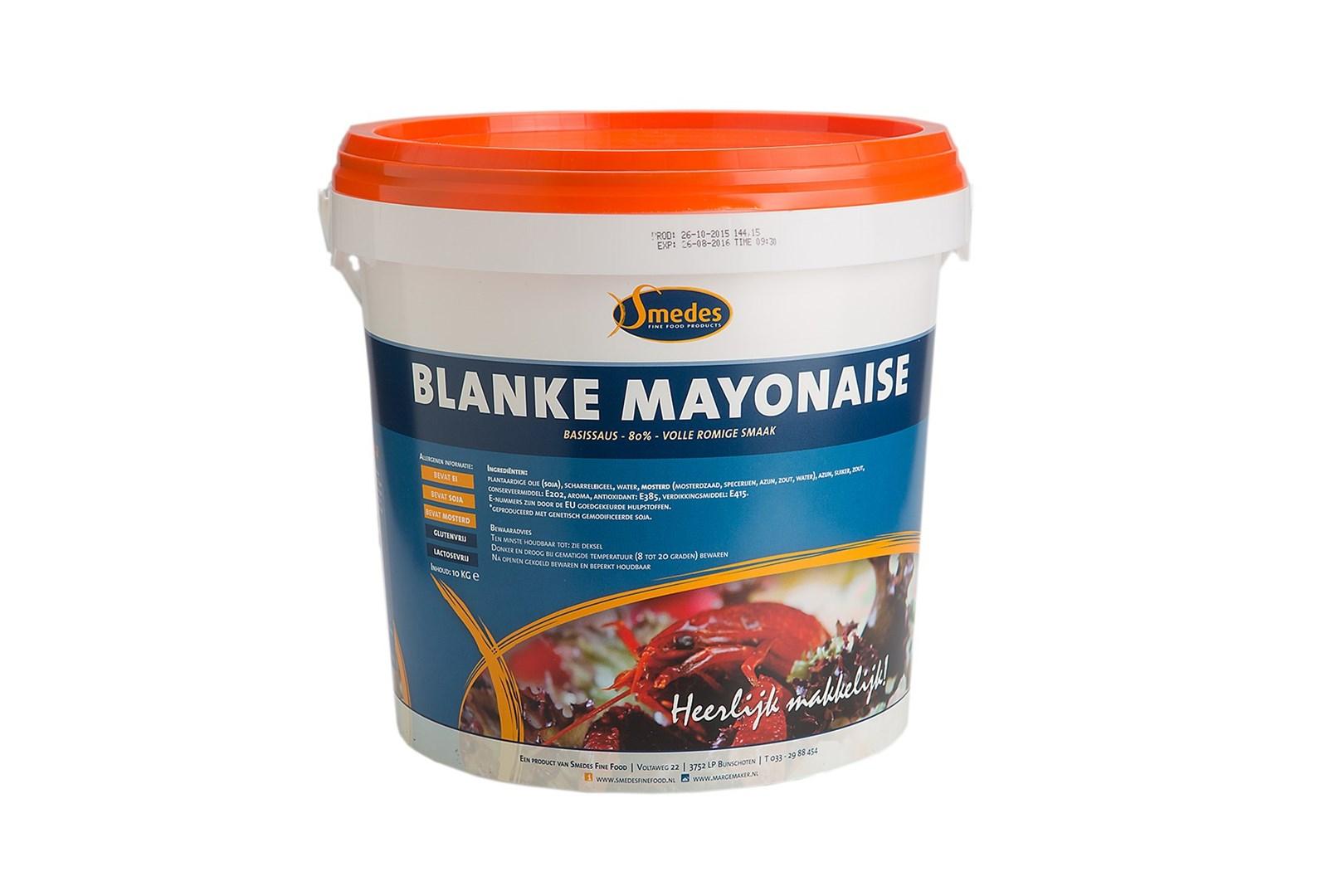 Productafbeelding Mayonaise blank 80%