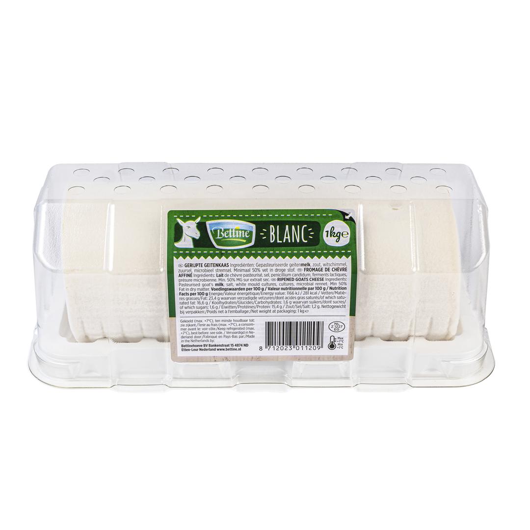 Productafbeelding Bettine Blanc gerijpte geitenkaas 2 x 1 kg