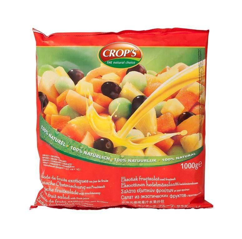 Productafbeelding Exotische vruchtenmengeling met sap 1000 g