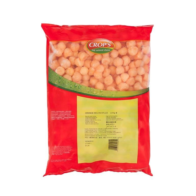 Productafbeelding Meloenbollen oranje 2500 g