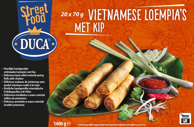 Productafbeelding Vietnamese Loempia's met Kip 20x70g