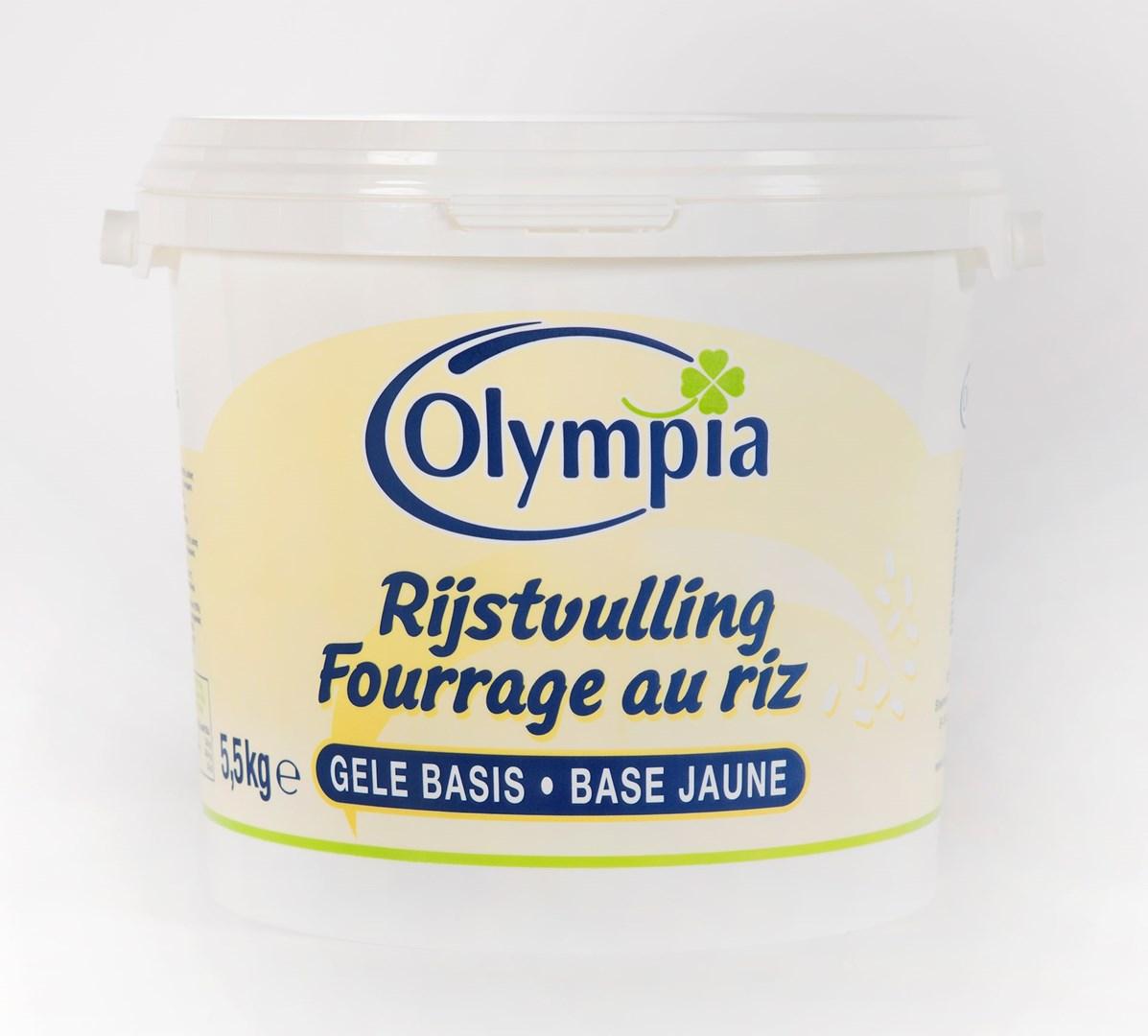 Productafbeelding Rijstvulling gele basis - emmer 5,5kg