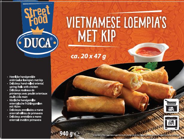 Productafbeelding Vietnamese Loempia met Kip