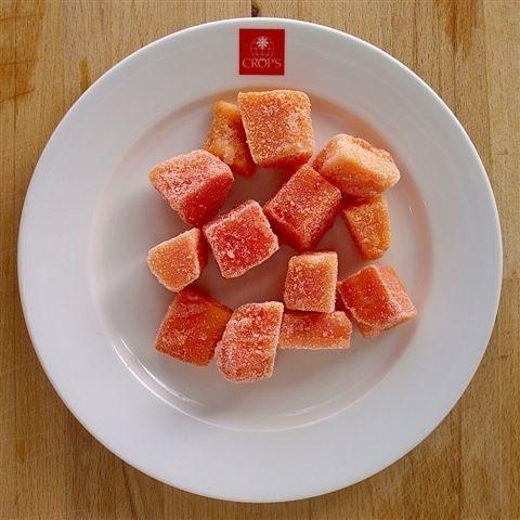 Productafbeelding Papayablokjes 20x20 mm 10000 g