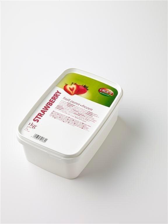 Productafbeelding Crop's Aardbeienpuree 1000 g